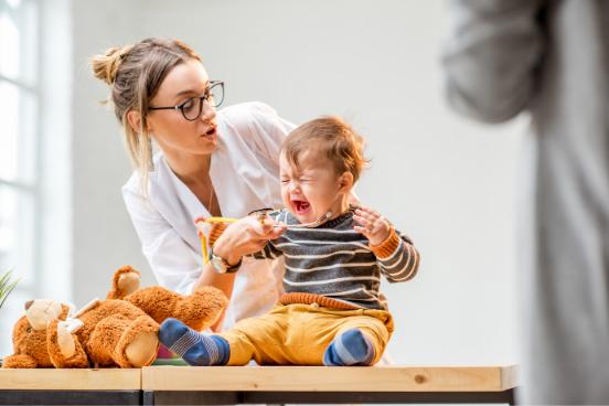 Šesta bolezen pri malčkih