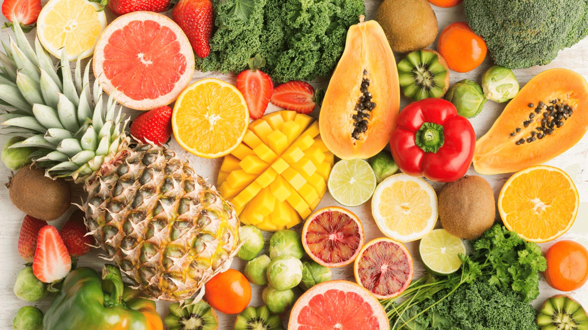 sadje, vitamini in zdrava prehrana