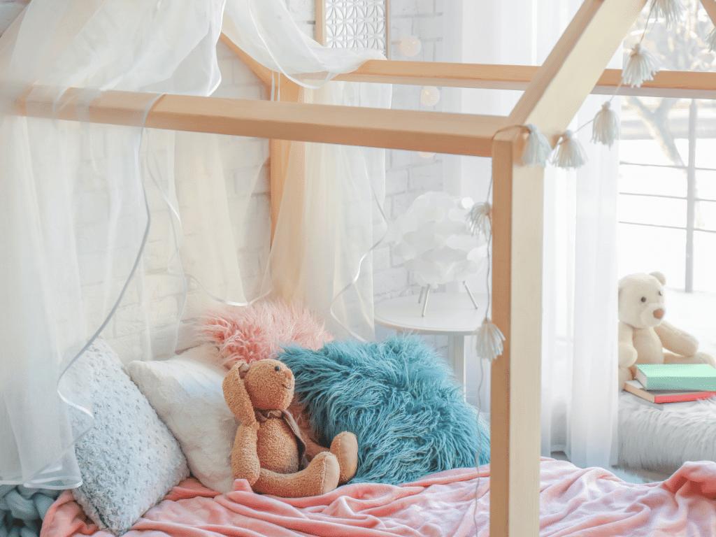 Kako opremiti otroško sobo za prijetno bivanje