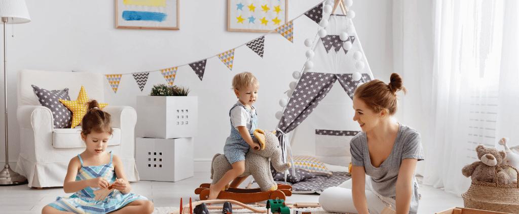 Moderna otroška soba